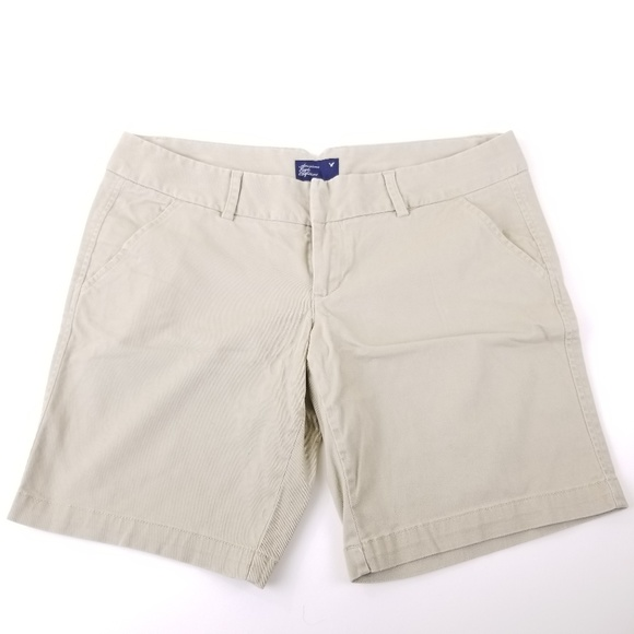 American Eagle Outfitters Pants - 🍾American Eagle Stretch Khaki Chino Shorts